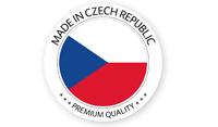 Készült a Cseh Köztársaságban